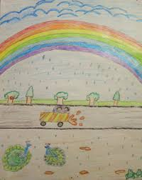 five best drawings of rain by children of taiyyebiyah school five best drawings of rain by children of taiyyebiyah school com