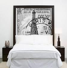 Paris Decor For Bedroom Home Design Bedroom Diy Headboard Wall Hanging Cool Headboard