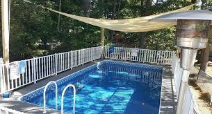 deep above ground pools v deign idea 5 ft deep swimming pools for
