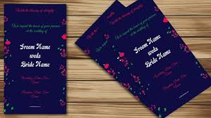 Create Indian Wedding Invitation Card Online Free For
