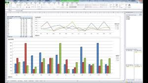 Yoy Comparison Chart Ms Excel Pivot Table And Chart For Yearly Monthly Summary