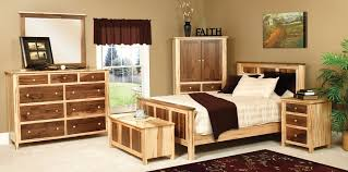 these unique wood combinations can be accomplished in any wood and finish here we see rustic maple and walnut combination amish quality