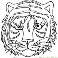 Small Picture 9 Er Face Coloring Page 150x150 Coloring Page Free Tiger