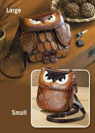 4773631501ig leather owl handbag collection