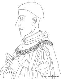 Small Picture KING HENRY V coloring page MA Ren Kings and Queens Lessons