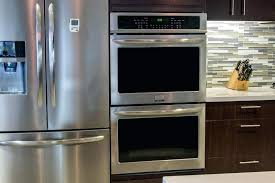 in wall double oven double oven review front double wall oven with microwave convection