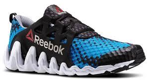 reebok running shoes men. reebok zigtech big n fast so cal in black and blue running shoes men e