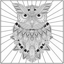 owl coloring pages for adults. Interesting Owl Free Owl Coloring Pages For Adults Luxury To Print Lovely Adult Of I