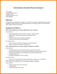 9 Executive Assistant Resume Objective Precis Format