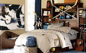 ... Drop Dead Gorgeous Pictures Of Hockey Themed Boy Bedroom Decoration :  Engaging Ideas For Hockey Themed ...