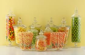 Decorative Glass Candy Jars Candy Buffet Jars Apothecary Jars Wholesale Acrylic Containers 2