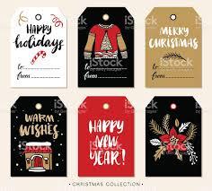 Christmas Gift Tags Template Set Vector Stock Vector 512245993 Christmas Gift Tag Design