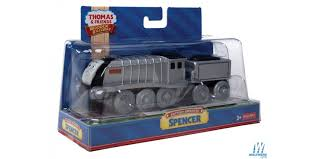 battery operated thomas friends tm wooden railway spencer the locomotive