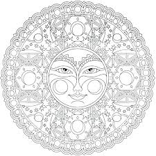 advanced mandala coloring pages free printable p coloring advanced mandala