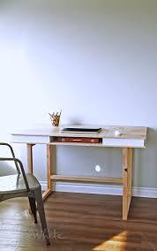 easy modern desk base free plans by ana white com