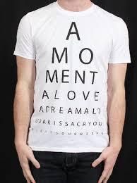 Temper Trap Eye Chart Shirt Eye Chart White Mens Tshirt By The Temper Trap