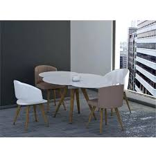 round extension dining table modern contemporary designer round extending dining table by
