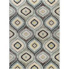 cpr1008 5x8 5 x 7 medium aqua blue brown and gold area rug
