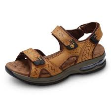 camel footbed sandals leather slippers