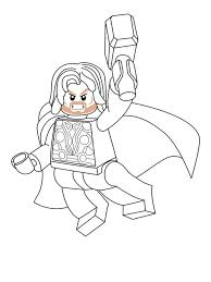 Small Picture Lego Marvel coloring pages Free Printable Lego Marvel coloring pages