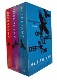 image is loading divergent box set 3 books trilogy veronica roth