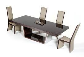 High Gloss Dining Table Alexander Modern Ebony High Gloss Dining Table Modern Furnishings