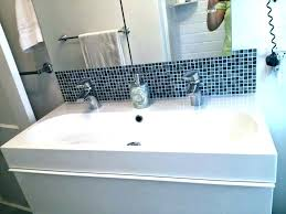 double sink trough two faucet sink trough sink with 2 faucets best of trough bathroom sink