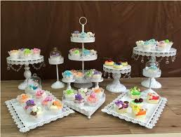 wedding cupcake stands. Contemporary Stands 12pcsset White Cake Stands Wedding Cupcake Stand Barware Decorating  Tools Decorationin Stands From Home U0026 Garden On Aliexpresscom  And Wedding Cupcake R