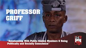Professor Griff - Relationship With Public Enemy Members & Being  Politically and Socially Conscious - YouTube