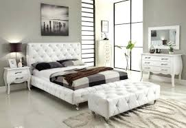 Catchy White Leather Bedroom Furniture Sets Cheap Set Perfect ...