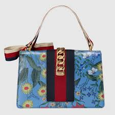 gucci 0010s. gucci-beautiful new sylvie flora leather handbag gucci 0010s m
