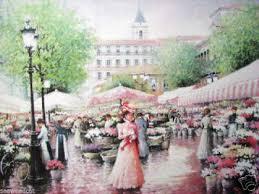 pink lady by chun rare impressionist nice france