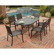 extra stone table top patio furniture outdoor full size of faux exterior round glass with umbrella hole 48 sealer replacement repair cleaner melbourne uk