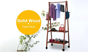 Coat Hanger Storage Rack Clothes Hanger Storage Rack Fashion Solid Wood Clothes Hanger 27