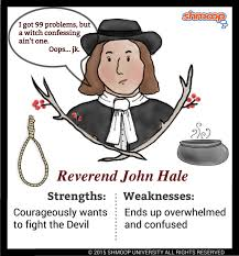 reverend john hale in the crucible character analysis