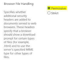 SharePoint 2016 Open HTML File in Browser Instead of Promoting to ...