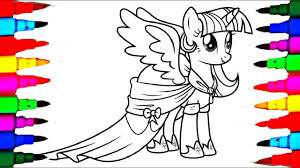 My Little Pony Twilight Sparkle Coloring Booklll L