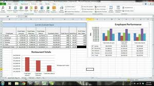 sales report example excel ms excel 2010 tutorial employee sales performance report analysis