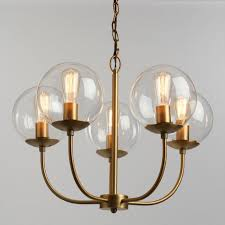 best home ideas miraculous glass globe chandeliers in antique brass and 5 light alessa chandelier