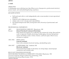 Marvelous Resume For Electrician In Healthcare Marketing Resume