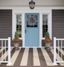 deckorators porch flooring in chicory and macademia