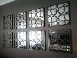 diy broken mirror wall art decor uk decorating fascinating