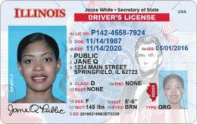 Licendseid Cards Illinois Driver 's Central Issuance 67qI8B