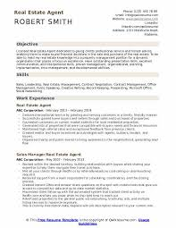 Career Objective For Real Estate Resume Real Estate Agent Resume Samples Qwikresume
