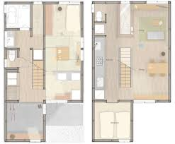 Contemporary Japanese House is Designed for Two GenerationsMulti Generational House   SNARK   OUVI   Tourimachi   Floor Plans   Humble Homes
