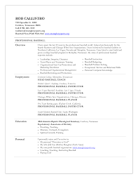 Baseball Coaching Resume Cover Letter Resume Coach Seattle Therpgmovie 6