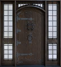exterior door designs. Fine Exterior Unique Single Front Door Design With Solid Darkwood Combined Glass  Windows On The Sides With Exterior Door Designs O