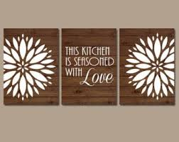 canvas kitchen wall art
