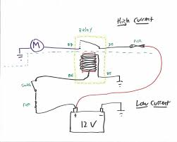 understanding relays part 2 different types of relays hagerty a simple relay circuit labeled din numbers