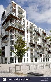 Modern Apartment Building In Copenhagen Denmark Europe Stock